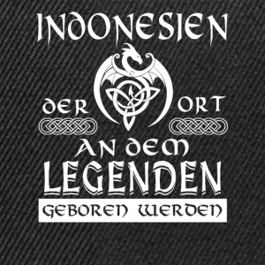 LEGENDE INDONESIEN - Shirt Herren - Snapback Cap