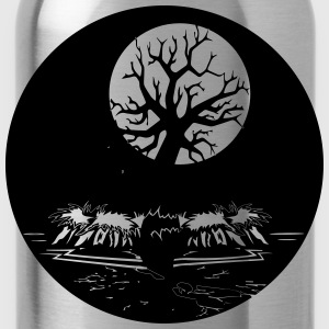 Island gothic creep T-Shirts - Water Bottle
