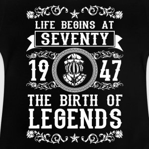 1947 - 70 years - Legends - 2017 Shirts - Baby T-Shirt