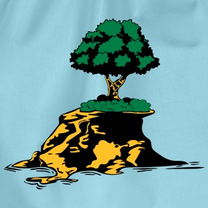 Island tree T-Shirts - Drawstring Bag