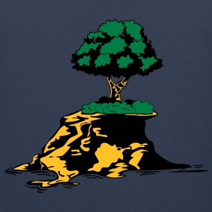 Island tree T-Shirts - Men's Premium Tank Top