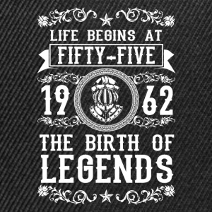1962 - 55 years - Legends - 2017 T-Shirts - Snapback Cap