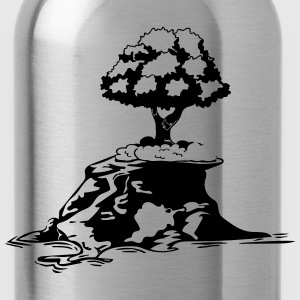 Island tree T-Shirts - Water Bottle