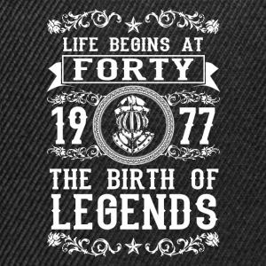 1977 - 40 years - Legends - 2017 Sweaters - Snapback cap