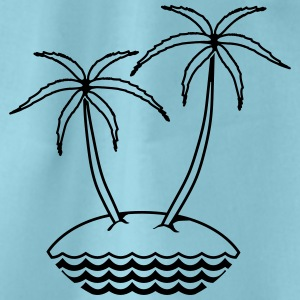 island T-Shirts - Drawstring Bag