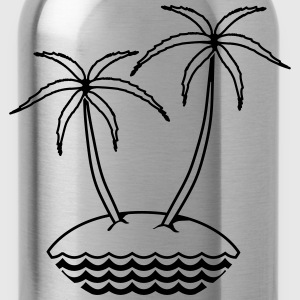 insel  T-Shirts - Trinkflasche