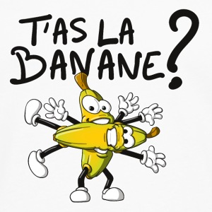 T'as la banane ? Badges - T-shirt manches longues Premium Homme