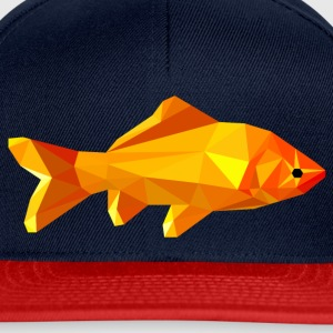 Goldfish polygon Bags & Backpacks - Snapback Cap