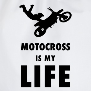 Motocross is my life - Turnbeutel