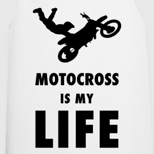 Motocross is my life - Kochschürze