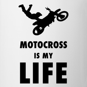Motocross is my life - Tasse