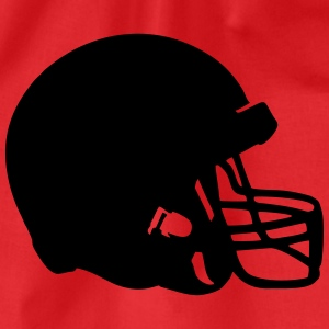 Football Helmet T-shirts - Gymnastikpåse