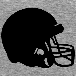 Football Helmet Tops - Men's Premium T-Shirt
