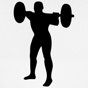 Weightlifter, weightlifting T-shirts - Basebollkeps
