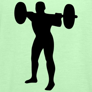 Weightlifter, weightlifting T-shirts - Dame tanktop fra Bella