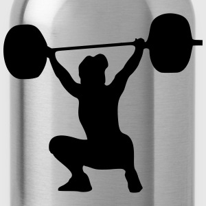 Weightlifter, weightlifting woman T-Shirts - Water Bottle