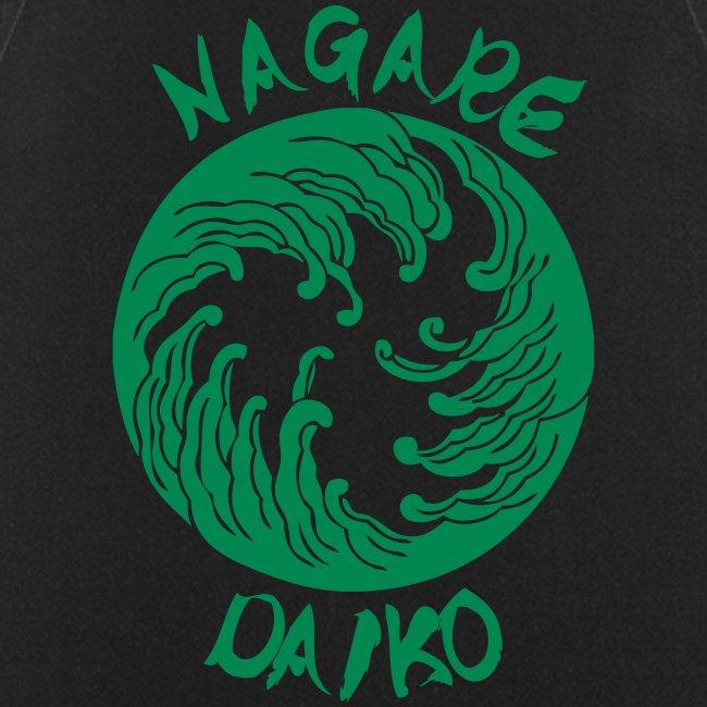 Nagare Daiko Logo Plüschbär Lasertransfer