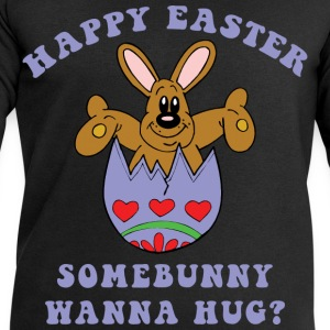 Happy Easter Somebunny Want A Hug - Men's Sweatshirt by Stanley & Stella