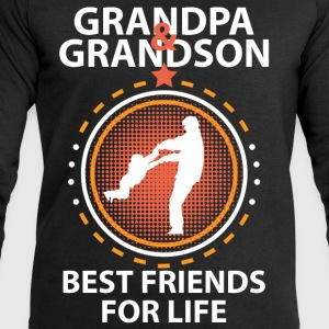 Grandpa And Grandson Best Friends For Life T-Shirts - Men's Sweatshirt by Stanley & Stella