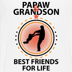 Papaw And Grandson Best Friends For Life Hoodies & Sweatshirts - Men's Premium T-Shirt