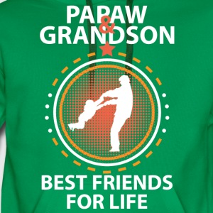 Papaw And Grandson Best Friends For Life T-Shirts - Men's Premium Hoodie