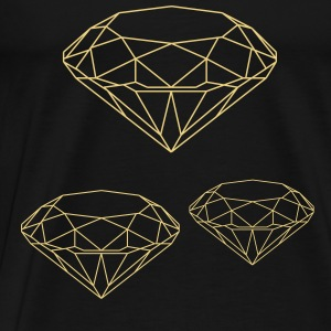 Diamant-Top - Männer Premium T-Shirt