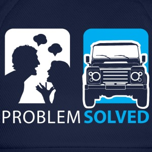 Problem Solved Jeep  Hoodies & Sweatshirts - Baseball Cap