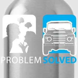 Problem Solved Jeep  Hoodies & Sweatshirts - Water Bottle