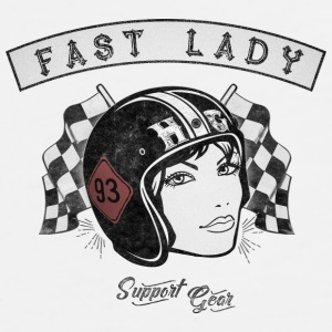 Fast Lady - Support Gear Caps & Mützen - Männer Premium T-Shirt