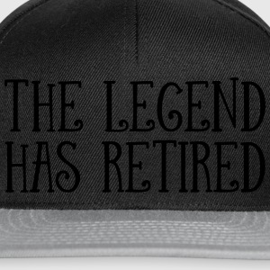 The Legend Has Retired T-shirts - Snapback cap