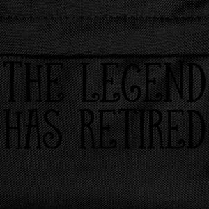 The Legend Has Retired T-shirts - Rygsæk til børn