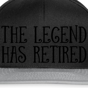 The Legend Has Retired T-skjorter - Snapback-caps