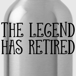 The Legend Has Retired T-shirts - Vattenflaska