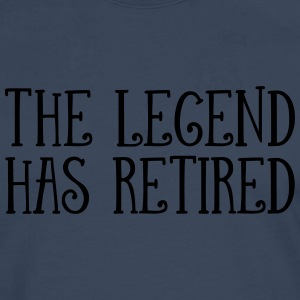 The Legend Has Retired Tee shirts - T-shirt manches longues Premium Homme