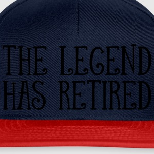 The Legend Has Retired T-shirts - Snapbackkeps
