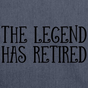 The Legend Has Retired Tee shirts - Sac bandoulière 100 % recyclé