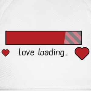 Kærlighed download gaming hjerte T-shirts - Baseballkasket