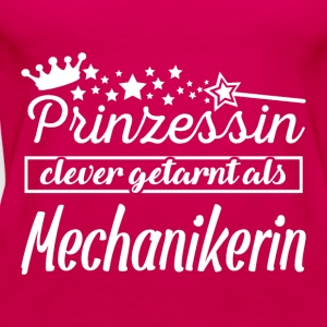 mechanikerin T-Shirts - Frauen Premium Tank Top