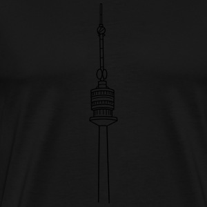 Danube Tower Vienna Other - Men's Premium T-Shirt