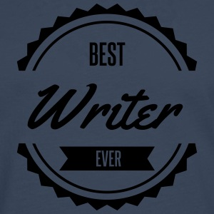 best writer  Aprons - Men's Premium Longsleeve Shirt