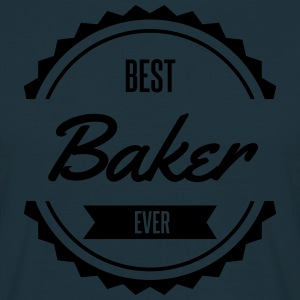 best baker Bäcker boulanger Tabliers - T-shirt Homme