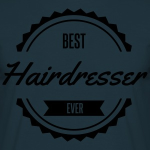 best hairdresser Friseur Tabliers - T-shirt Homme