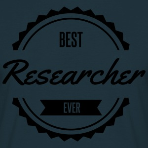 best researcher Forscher chercheur Tabliers - T-shirt Homme