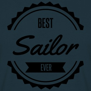 best sailor marin Seemann Tabliers - T-shirt Homme