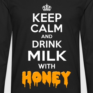 Milk with Honey T-Shirts - Männer Premium Langarmshirt