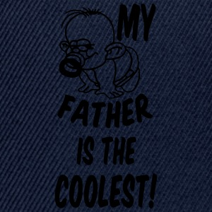 Coolest Father T-Shirts - Snapback Cap