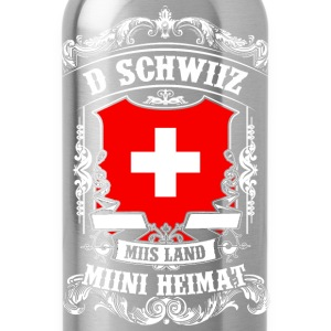 D SWITZERLAND - MIIS COUNTRY - SPORT HOME Shirts - Water Bottle
