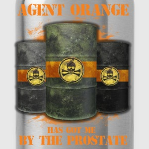 Agent orange has got me by the prostate - Water Bottle