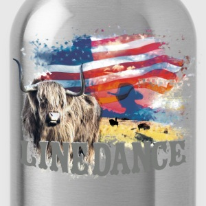 kl_linedance23b T-Shirts - Drinkfles
