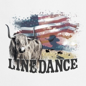 kl_linedance23a T-Shirts - Tablier de cuisine